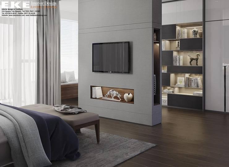 Phòng ngủ:   by EKE Interior