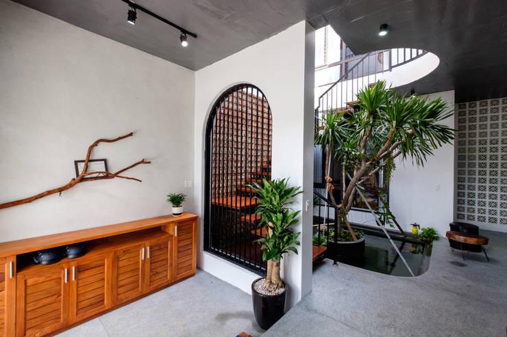 Puertas de cristal de estilo  de Mét Vuông
