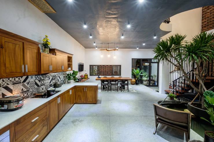 Кухонные блоки в . Автор – Mét Vuông