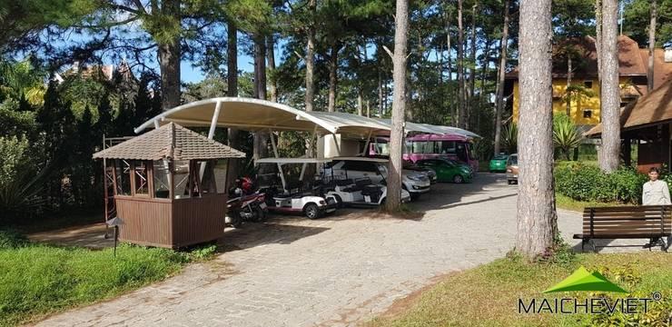Mái che tại Ana Mandara Đà Lạt:  Nhà để xe/Nhà kho by Công ty TNHH Havico Việt Nam
