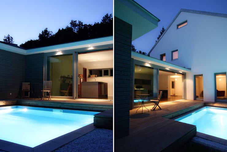 DH am Westpark München:  Häuser von WSM ARCHITEKTEN