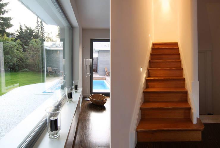 DH am Westpark München:  Treppe von WSM ARCHITEKTEN
