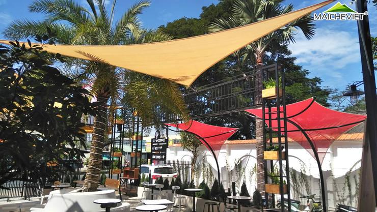 Thiết kế và thi công mái che ngoài trời của quán cà phê Sky Coffee Tiền Giang:  Mái by Công ty TNHH Havico Việt Nam