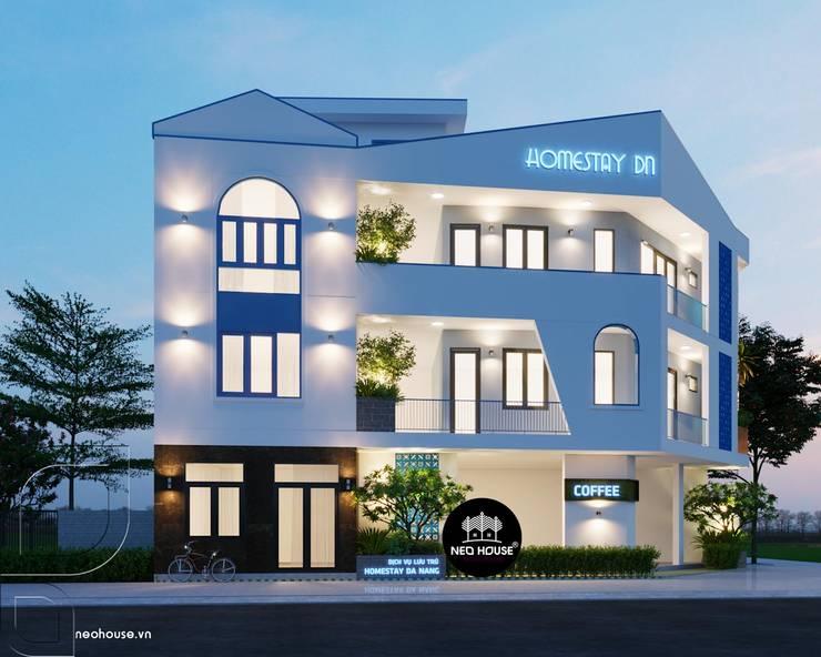 Thiết Kế Biệt Thự Homestay Độc Đáo Tại Đà Nẵng:   by NEOHouse