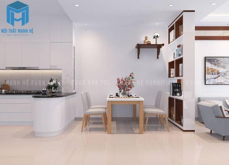 bộ bàn ăn phòng bếp :  Phòng ăn by Công ty TNHH Nội Thất Mạnh Hệ