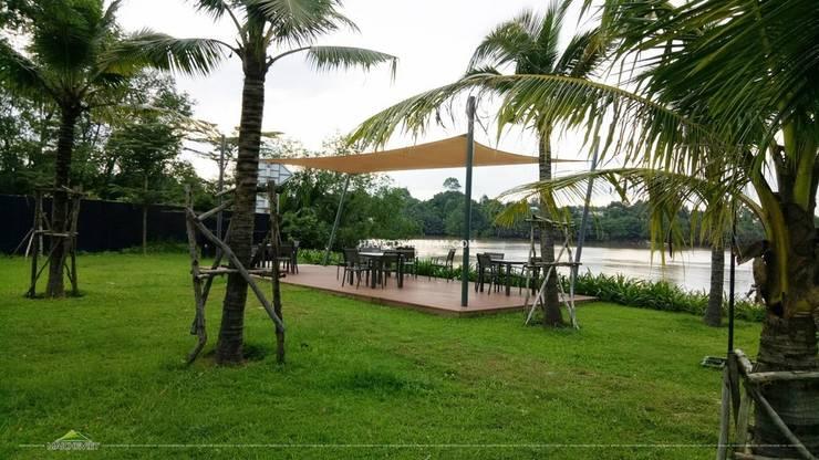 Mái che tại Đại Phước Lotus Đồng Nai:  Vườn by Công ty TNHH Havico Việt Nam