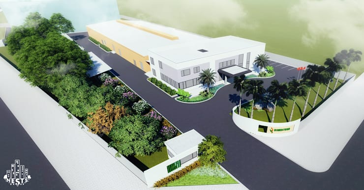 Cảnh quan nhà máy Bimedtech:   by Nestsgroup