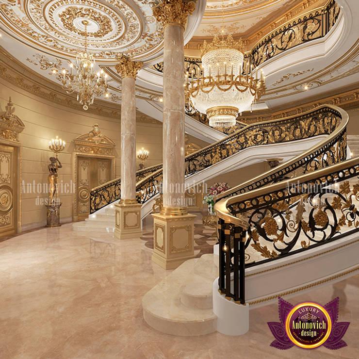Extreme Luxurious Hall Interior Design:   by Luxury Antonovich Design