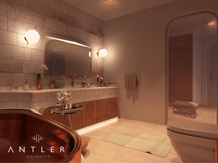 Bathroom by Antler İç Mimarlık