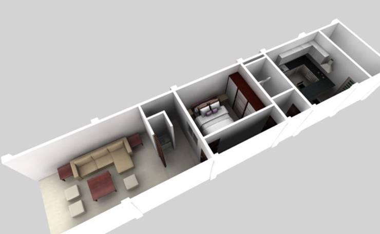 施工前3D示意圖:   by 懷謙建設有限公司