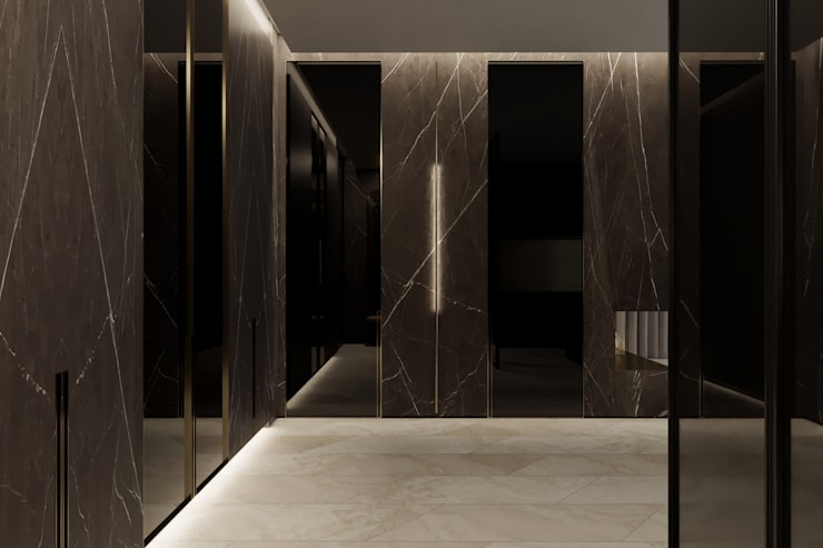 Corridor, hallway by Suiten7,