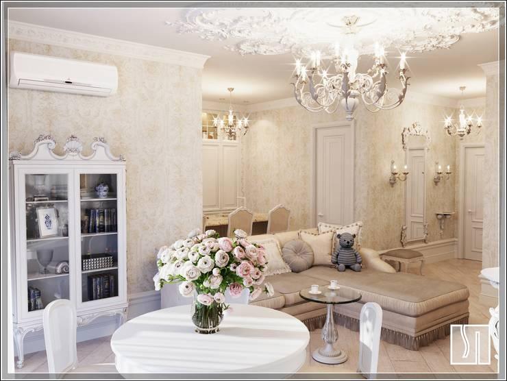 Salas / recibidores de estilo  por Студия дизайна Светланы Исаевой