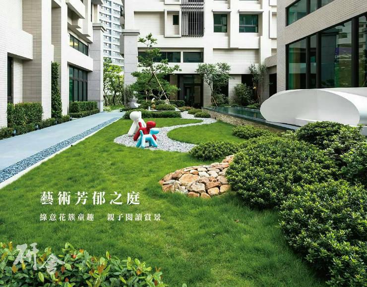 Balconies, verandas & terraces  by 研舍設計股份有限公司,