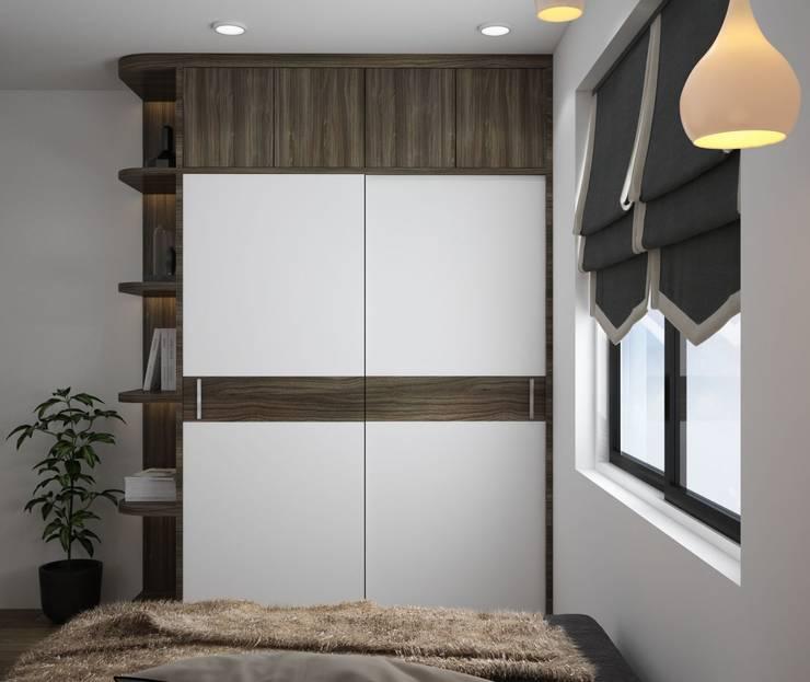 Tủ quần áo phòng ngủ ông bà:  Spa by NỘI THẤT XLINE