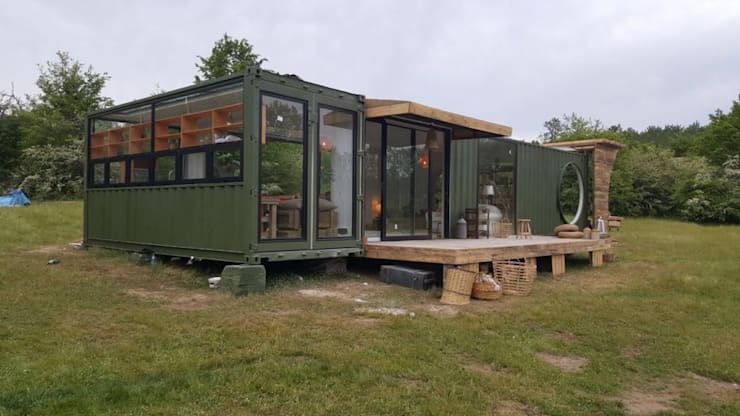MOVİ evleri – MOVI SHIPPING CONTAINER  HOMES 2 :  tarz Villa