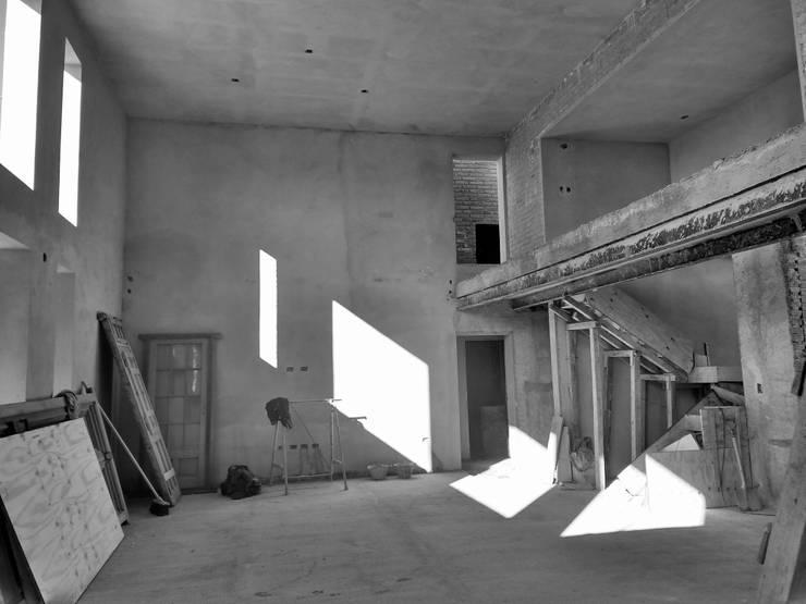 Proyecto Vivienda Unifamiliar: Casas unifamiliares de estilo  por Arquitectura CH,Minimalista