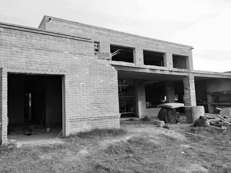 Proyecto Vivienda Unifamiliar: Casas unifamiliares de estilo  por Arquitectura CH,Moderno