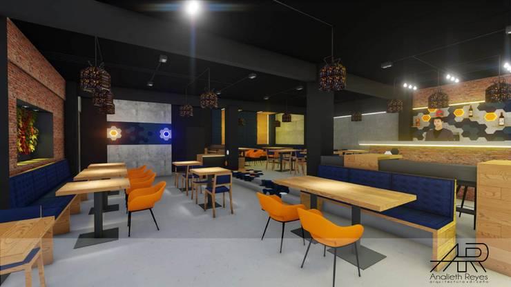 Sillas : Tiendas y espacios comerciales de estilo  por Analieth Reyes - Arquitectura y Diseño