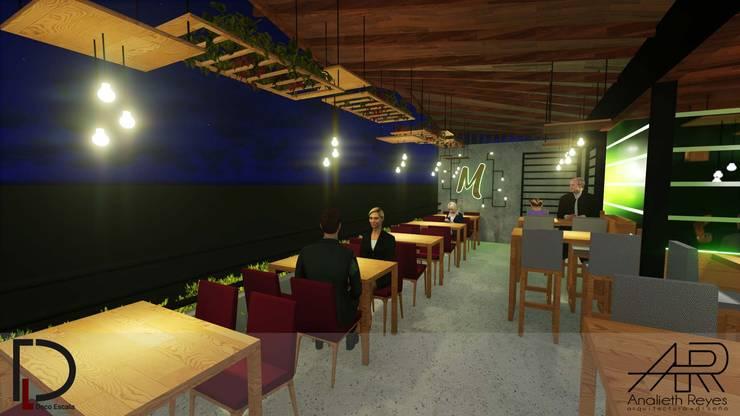 TERRAZA: Terrazas de estilo  por Analieth Reyes - Arquitectura y Diseño