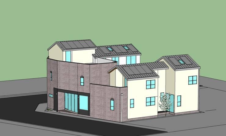 듀플렉스 주택 모델링: neobuild의  ,