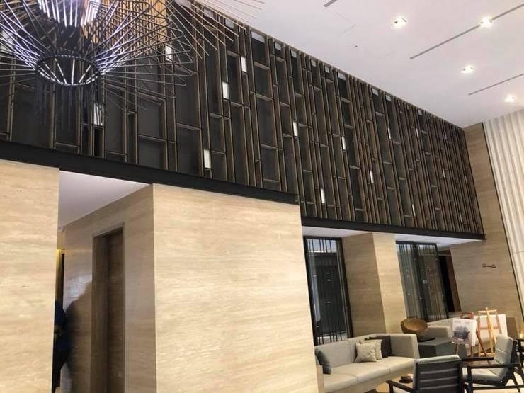 室內裝修、統包工程、老屋翻新、社區公設:  牆壁與地板 by 御品室內裝潢公司
