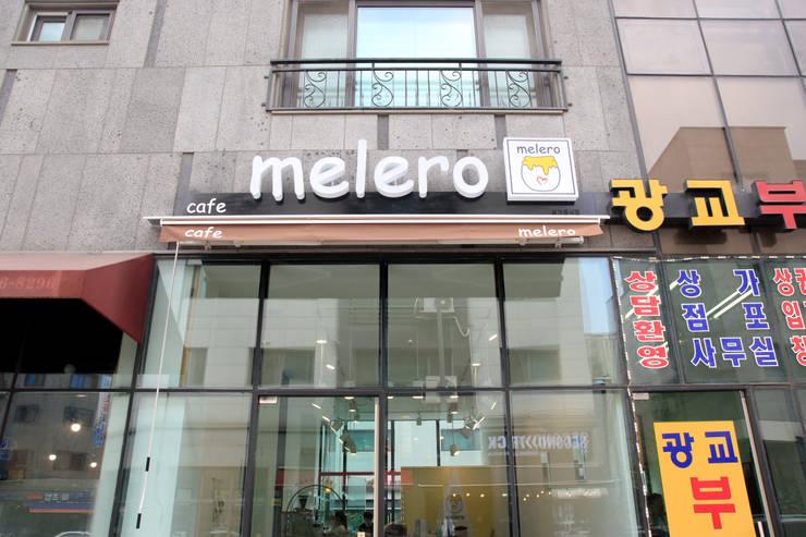 수원 영통구 원천동 카페 Melero 인테리어 리모델링: 그리다집의  ,