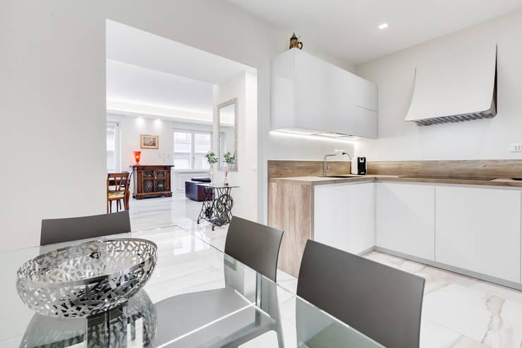 Progettazione e arredamento appartamenti in stile minimal for Arredamento stile minimal