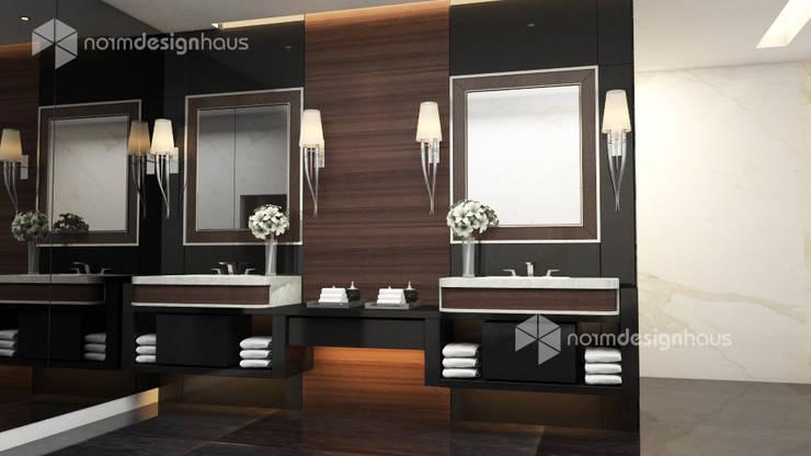 bathroom design, interior design malaysia:  Bathroom by Norm designhaus