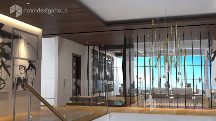 living room design, interior design malaysia:  Living room by Norm designhaus