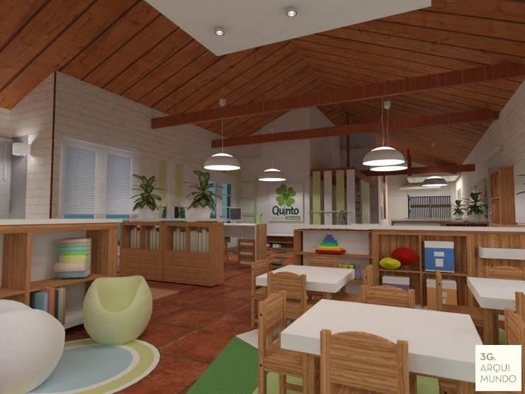 โรงเรียน โดย Arquimundo 3g - Diseño de Interiores - Ciudad de Buenos Aires, สแกนดิเนเวียน
