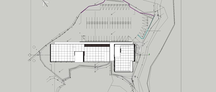 DooShin R&D Center: 피투엔디자인  _____  p to n design의  회사,모던