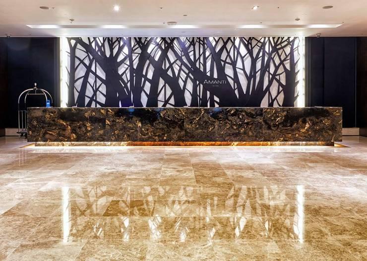 4F Lobby: 피투엔디자인  _____  p to n design의  호텔,