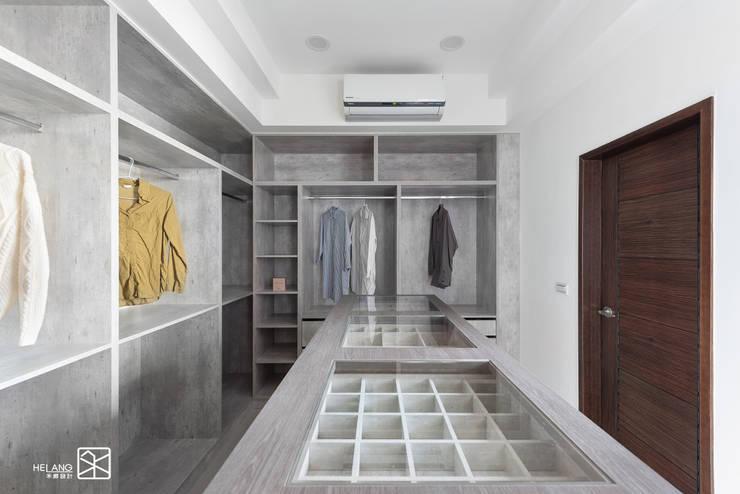 更衣室:  更衣室 by 禾廊室內設計