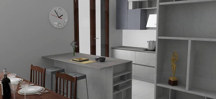 Render cucina: Cucina in stile  di G&S INTERIOR DESIGN