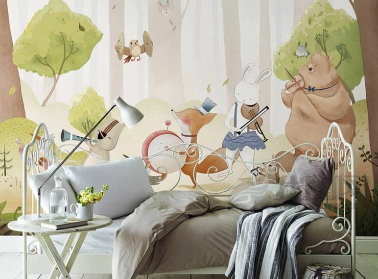Підліткова спальня by SK Concept Duvar Kağıtları