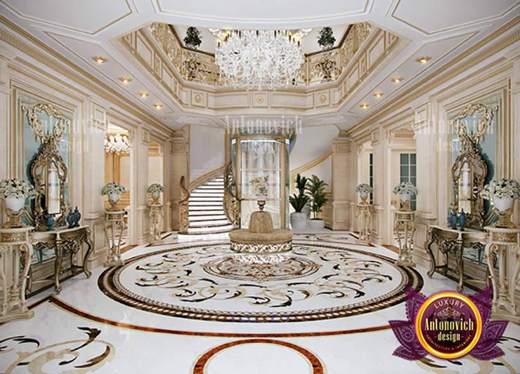 Fine Fancy Hall Interior:   by Luxury Antonovich Design