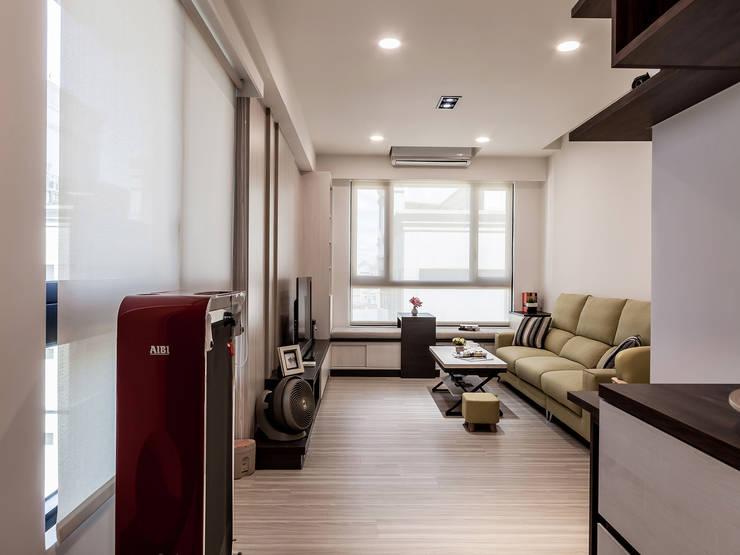 最完美的小宅提案:   by 好室佳室內設計