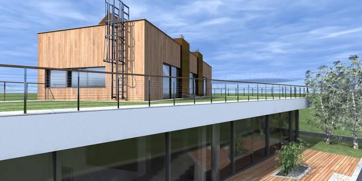Terrace by Budownictwo i Architektura Marcin Sieradzki - BIAMS