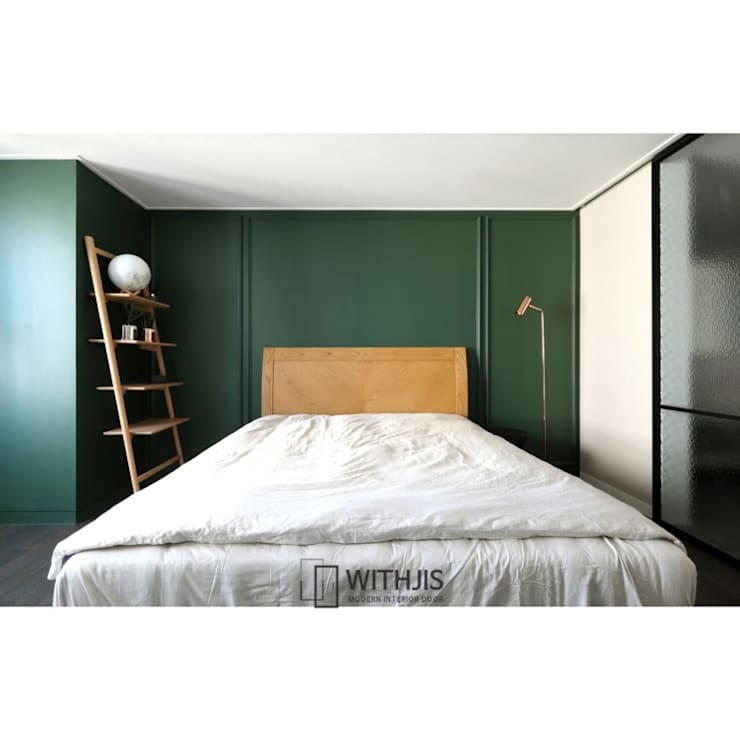 ALU-SD, 1SD(슬라이딩도어1, 상부구동형): WITHJIS(위드지스)의  작은 침실