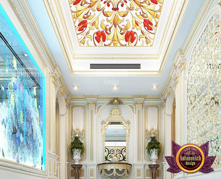 Stunning Unique Hall Interior Design:   by Luxury Antonovich Design