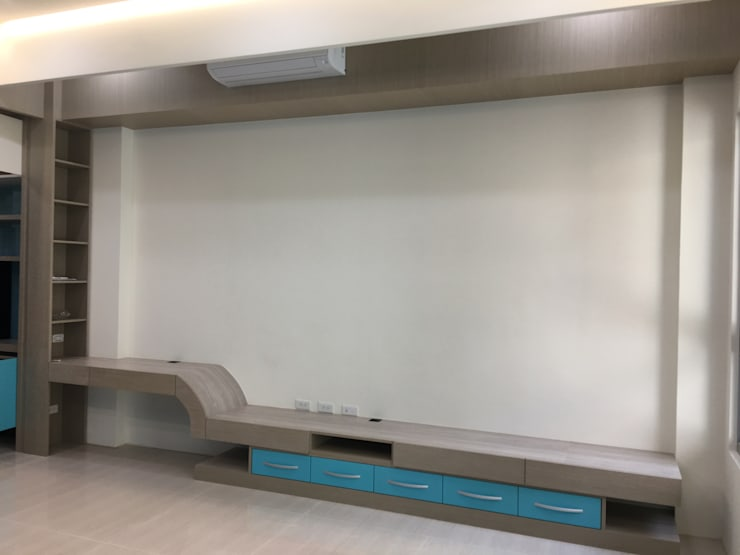 客餐廳:  客廳 by houseda