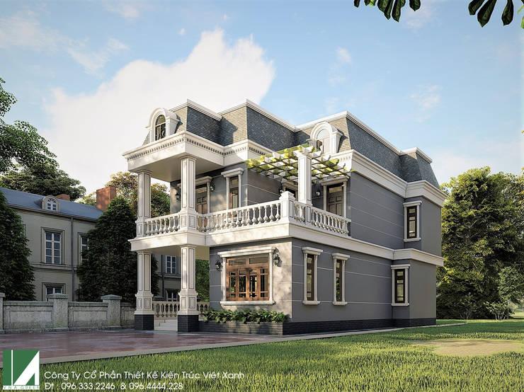 BIỆT THỰ 3 TẦNG CỔ ĐIỂN – BÁC THIẾU KIẾN THỤY – HẢI PHÒNG :   by công ty cổ phần Thiết kế Kiến trúc Việt Xanh