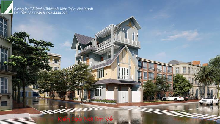 BIỆT THỰ BÁC HIẾU - LÊ HỒNG PHONG - HẢI PHÒNG:   by công ty cổ phần Thiết kế Kiến trúc Việt Xanh