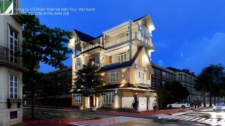 BIỆT THỰ BÁC HIẾU – LÊ HỒNG PHONG – HẢI PHÒNG:   by công ty cổ phần Thiết kế Kiến trúc Việt Xanh