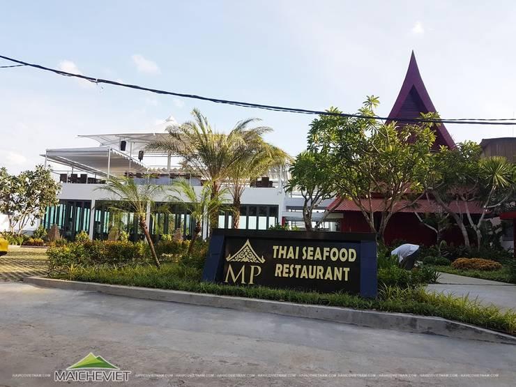 Mái che nhà hàng MP thai Seafood Restaurant – Nha Trang:  Nhà by Công ty TNHH Havico Việt Nam