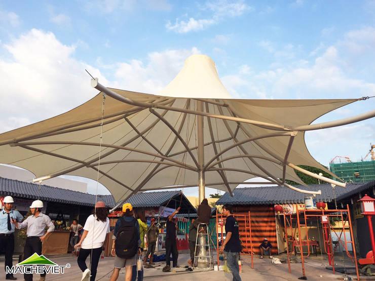 Thiết kế mái che khu ẩm thực Kenton Quận 7:   by Công ty TNHH Havico Việt Nam