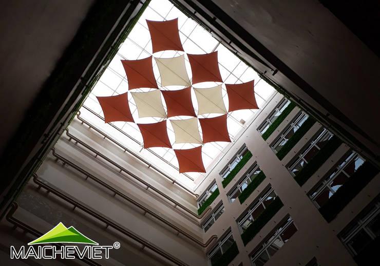 Thiết kế và thi công mái che giếng trời tại bệnh viện phụ sản quốc tế Đức Giang:   by Công ty TNHH Havico Việt Nam