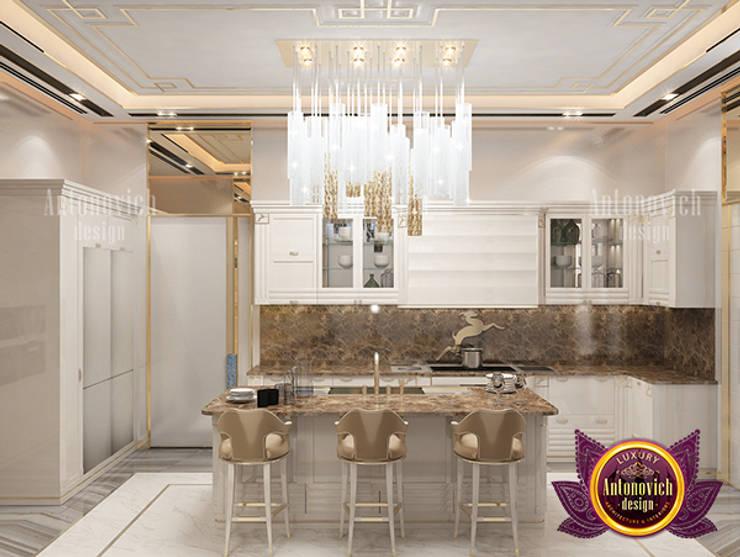 Best Modern Kitchen Interior Design:   by Luxury Antonovich Design