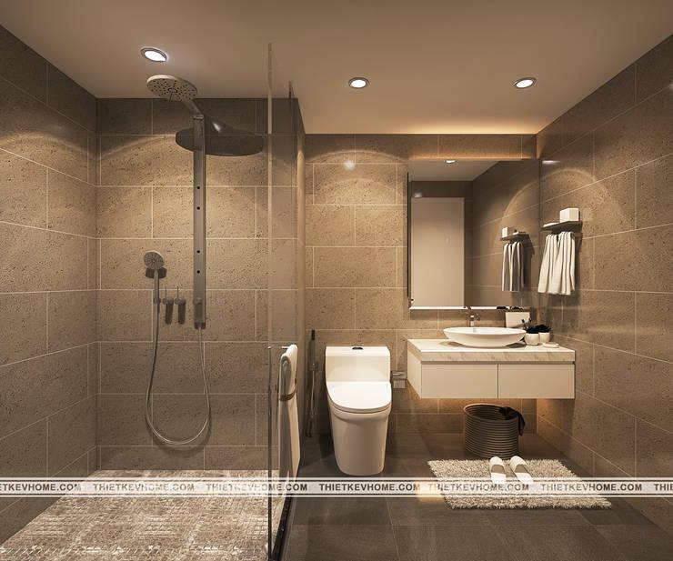 Thiết kế nội thất chung cư Vinhomes Green Bay, Mễ Trì, Từ Liêm:   by Công ty CP Kiến trúc V-Home
