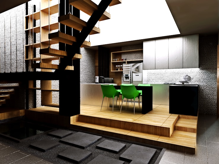 Dapur:  Unit dapur by r.studio